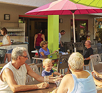 ALBERES Le camping - restaurant