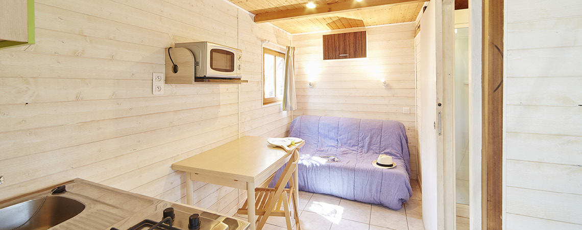 CHALET 2 PERS - ALBERES - A.Lamoureux
